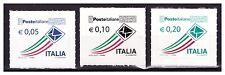 ITALIA 2010 - Ordinaria Adesivi ENTE POSTE  3 v. nuovi **