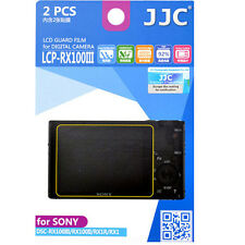 JJC LCP-RX100III hard polycarbonate LCD Film Screen Protector For Sony RX1 RX1R