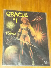 ORACLE PRESENTS #1 FEATURING TOPAZ 3 JUNE 1986 US MAGAZINE~