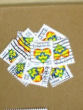 100 USED STAMPS SCOTT #2248 22C LOVE / HEART