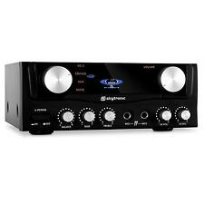 SKYTRONIC 103.202 AMPLIFICATORE HI FI 400W IMPIANTO STEREO HOME CINEMA THEATRE