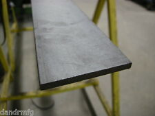 """MS MILD STEEL 1/4"""" x 1"""" x 12"""" FLAT BAR / PLATE STOCK HOT ROLLED FOR MACHINE SHOP"""