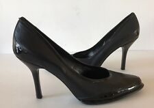 Nine West NAIRIR Black Leather Pumps Women Shoes Size 9 M