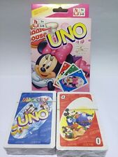 Micky & Minnie mouse UNO CARDS Family Fun Playing Card Game Toy Board Game AUS