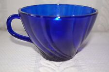 Cobalt Blue Vereco Coffee Tea Punch Cup