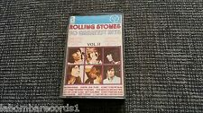 ZZ- CASSETTE ROLLING STONES - 30 GREATEST HITS - VOLUMEN II - UNEDITED HITS RARE