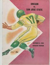 Oct. 9, 1959 Oregon vs. San Jose State College Football Program
