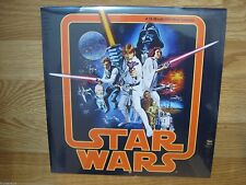 STAR WARS 2014 WALL CALENDAR 16 MONTH Collectible! FACTORY SEALED