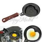 Useful Outdoor Kitchen Non-stick Stainless Steel Frying Pan Love Heart Egg Pot