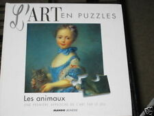 L'art en puzzle les animaux  Art in puzzles