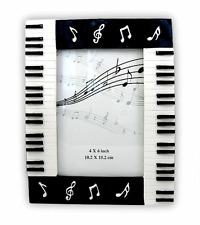 Piano Photo Frame - Rectangular - Music Themed Gift _ Musical Photo Frame