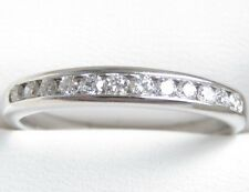 Genuine 0.40ct G/SI Diamond Wedding Ring 10K Solid W/Gold Michael Hill Jeweller