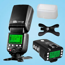 PIXEL X800N Pro ITTL HSS Flash Light Speedlite+King Pro Sony Flash Transceiver