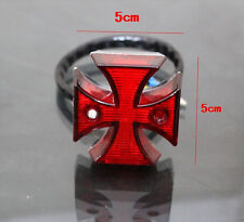 Motorcycle Choppers Dirt Bike Maltese Cross LED Rear  License Plate Tail Light