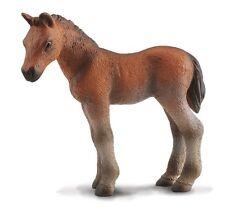 Poulain pur-sang debout brun 7 cm monde de cheval Collecta 88244