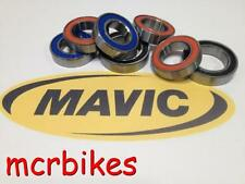 MAVIC CROSSRIDE FRONT QR WHEEL HUB BEARINGS CHROME STEEL GREASE FILLED