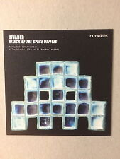INVADER, 'Attack of the Space Waffles' promo card, Outsiders gallery, 2011