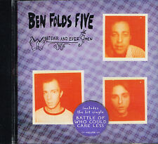 CD album: Ben Folds Five: whatever and ever amen. sony. indie rock