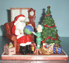 Royal Doulton Santa's World Travels 2012 Figurine Handmade Limited Edit 5598 New