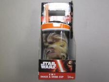 Star Wars Snackeez! Jr 2 in 1 Snack & Drink Cup As Seen on TV Chewbacca