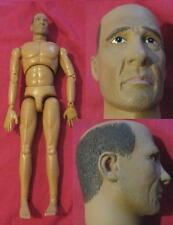 "Male Nude Old Man Body & Head 1/6 scale 12"" Action Figure. BBI Dragon Hot Toys"