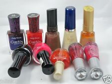 B191:Lot 10x Wet n Wild Revlon CoverGirl Sally Hansen Nail Polish
