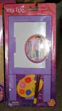 "My Life as Artist Playset Accessories American Girl & Other 18"" Doll Sz Easel +"