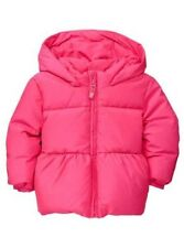 BABY GAP GIRL 18-24 MO HOT PINK WARMEST JACKET COAT DOWN FILLED HOOD NEW!!!