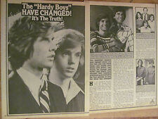 Shaun Cassidy, Two Page Vintage Clipping