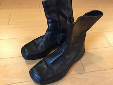 Mens Prada Sport sz 7.5 / US 8.5 black boots shoes $920