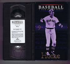 Ken Burns Baseball (VHS) Inning 9 / vol #9  NM-Tape and box