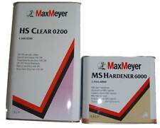 Max Meyer 0200 2K Clear Coat Lacquer 5L +  FAST Activator 6000 2.5L