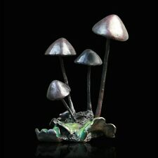 Toadstools Mushroom Bronze Foundry Cast Sculpture Michael Simpson (816)