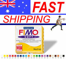 FIMO Soft Polymer Clay 56g Block - Choice of 24 Colours