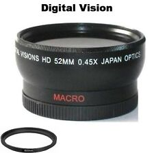 Digital Vision Wide Angle Lens for Samsung NX 16-50mm, 20mm, 30mm, 16mm Lens