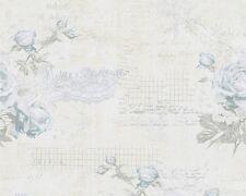 Tapete Landhaus Blumen creme blau livingwalls Djooz 95667-3 956673 (1,88€/1qm)