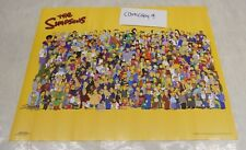 THE SIMPSONS VINTAGE CHARACTER COLLAGE POSTER 16 x 24 inches (2000)