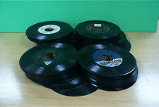 "45's--Country--100 Vinyl 7"" records--Free Shipping"
