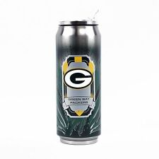 NFL Licensed Green Bay Packers SS Thermo Can, Large/16.9 oz Tumbler Mug Coffee