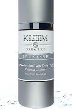 Kleem Organics Anti Aging Lactic Acid Vitamin C Serum for Face with Ferulic   lh
