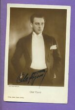 OLAF FJORD # 1329/1 VINTAGE PH.PC.PUBLISHER GERMANY/AUTOGRAPHED-SIGNED 6271