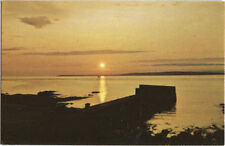 Alte Postkarte - Sunset over the isle of Stroma from John O'Groats