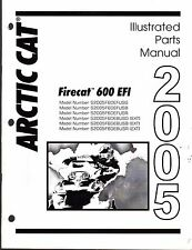 2005 ARCTIC CAT SNOWMOBILE FIRECAT 600 EFI PARTS MANUAL P/N 2257-125  (475)