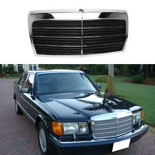 For Mercedes-Benz Class SEL/W126 1980-1991Front Hood Black Grill Grille