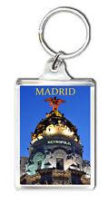 MADRID METROPOLIS KEYRING SOUVENIR NEW LLAVERO