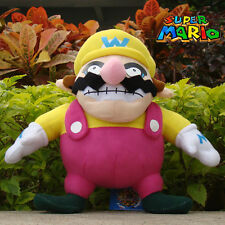 "Super Mario Bros Plush Toy Wario 11"" Nintendo Game Cool Stuffed Animal Doll"