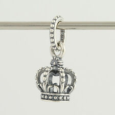 New Pandora Bead Charm - Sterling Silver 791376 Noble Splendor Crown ALE 925