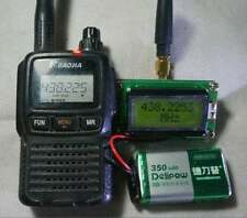 High Precision Frequency Counter with Antenna 1 ~ 500 MHz for Ham Radio Hobbist
