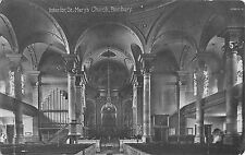 BR67617 interiour st mary s church banbury real photo   uk