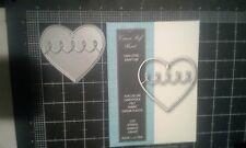 Memory Box metal cutting die - Cream Puff Heart - New Poppy Stamps